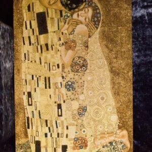 Arazzo Quadro Il Bacio di Klimt 65×113 cm