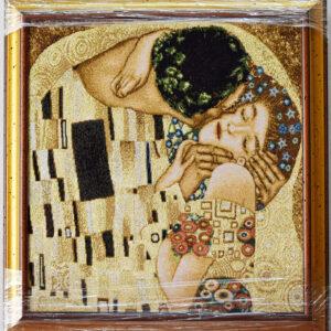 Arazzo Quadro Il bacio (1) Klimt