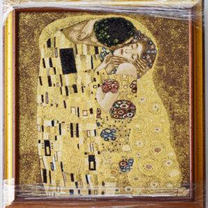 Arazzo Quadro Il bacio (2) Klimt