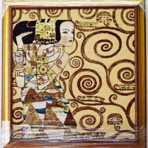 Arazzo Quadro Attesa Klimt