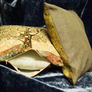 Arazzo cuscino  albero della vita   Klimt