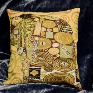 Arazzo cuscino Abbraccio  Klimt