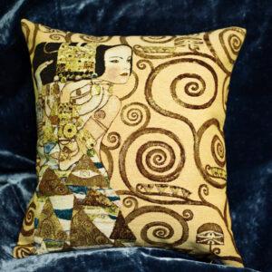 Arazzo cuscino Attesa Klimt