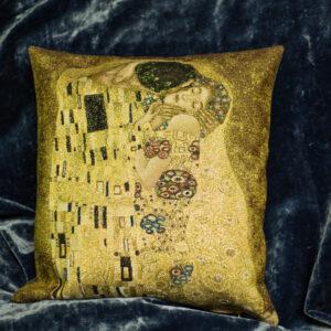 Arazzo cuscino Il bacio Klimt