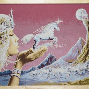Arazzo Quadro La valle degli unicorni