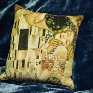 Arazzo cuscino Il Bacio di Gustav Klimt